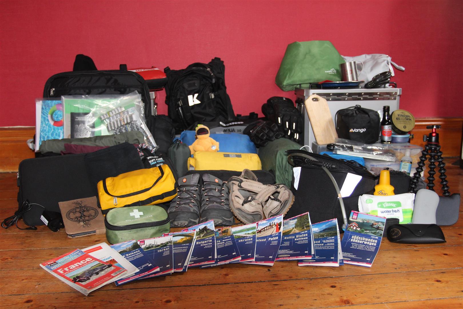 Lots of stuff to take