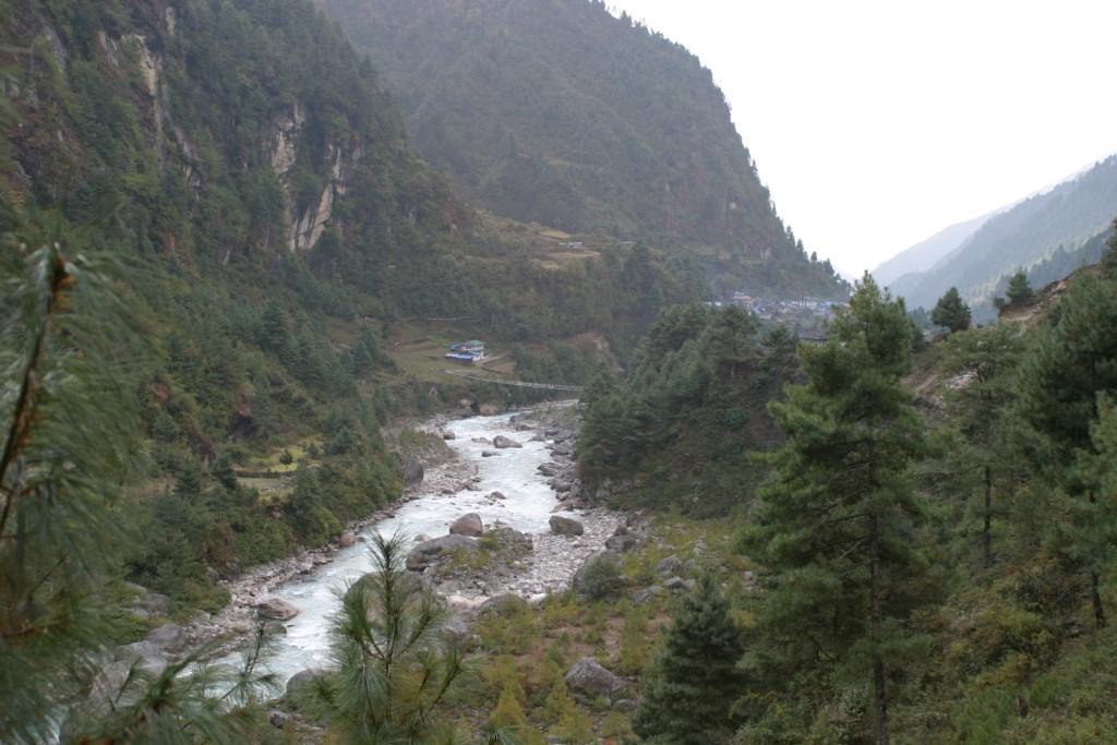 Trail leading to bridge