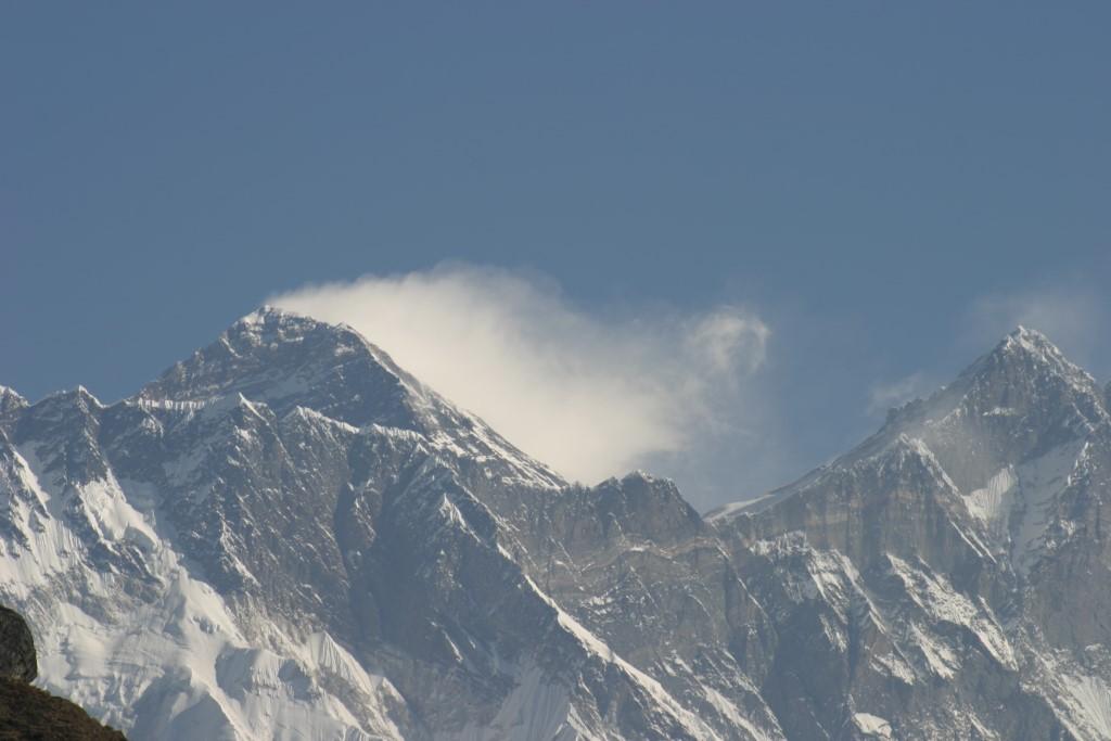 Everest via telephoto
