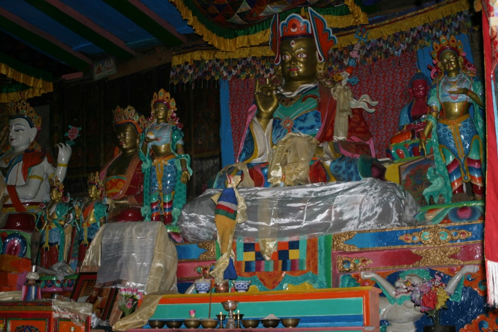 Buddas in the monastery