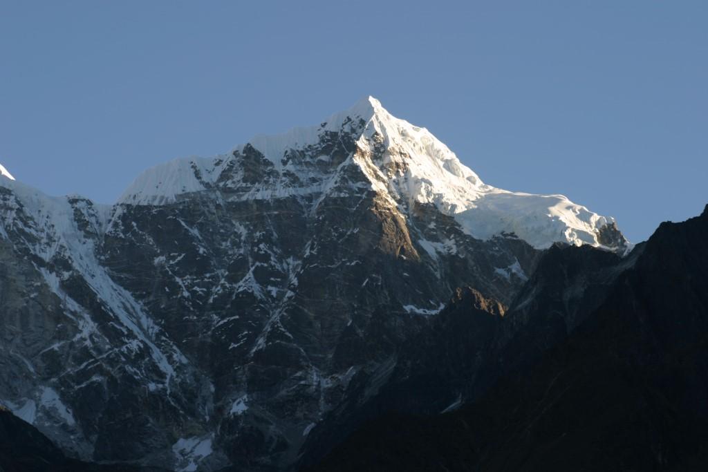 Sunrise in the Himalaya