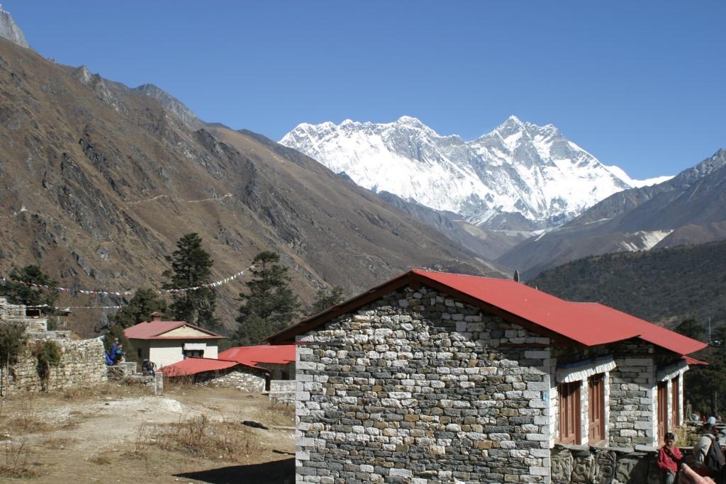 Everest and Lhotse