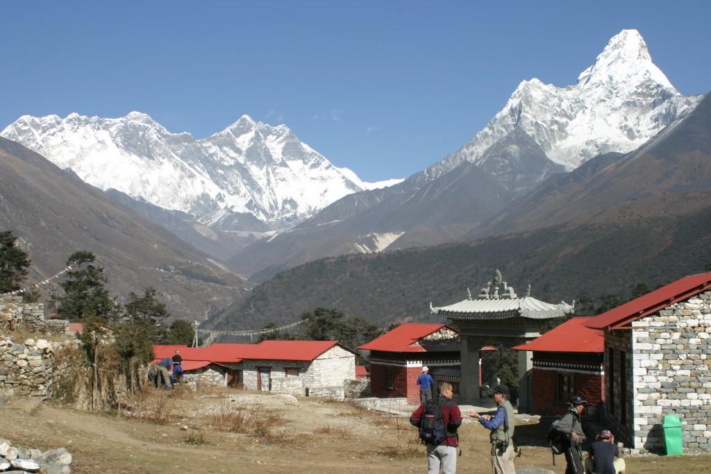 Everest, Lhotse and Ama Dablam again