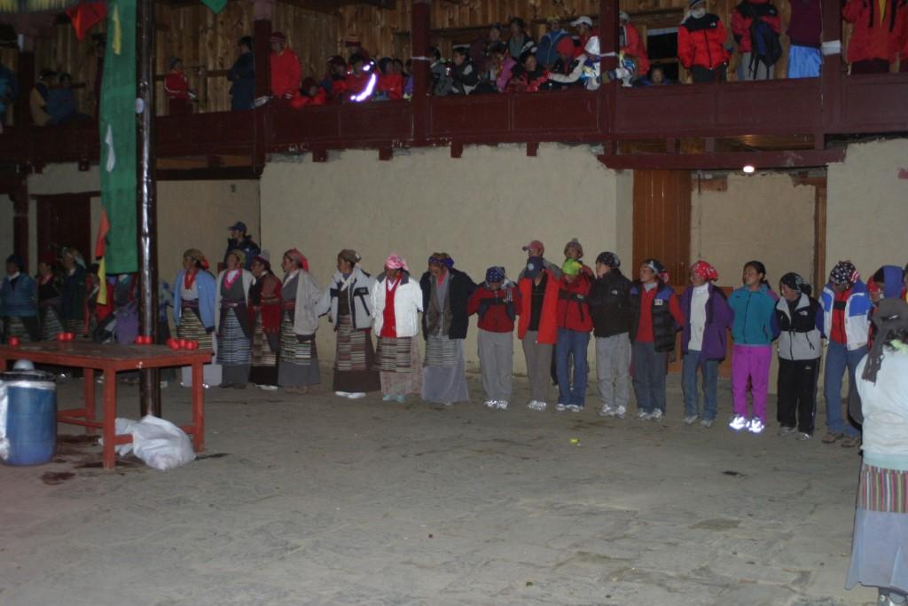 Sherpa dancing