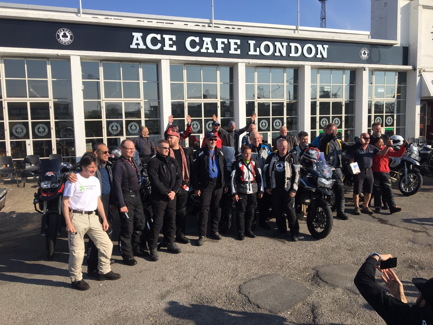 Group outside the Ace
