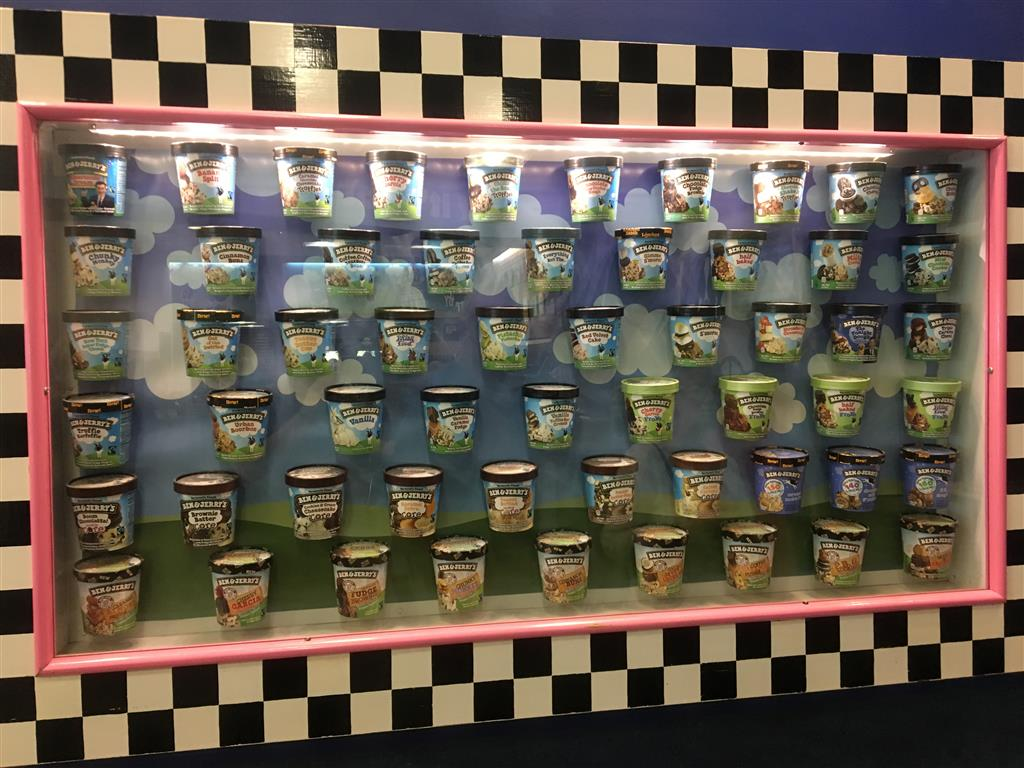 Ben and Jerry's flavours