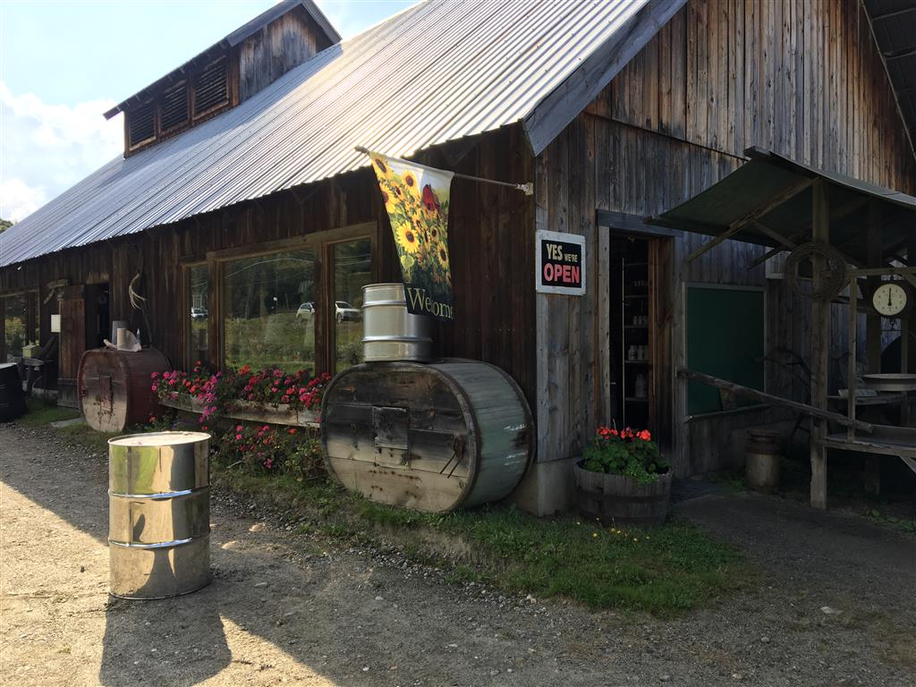 Maple syrup factory