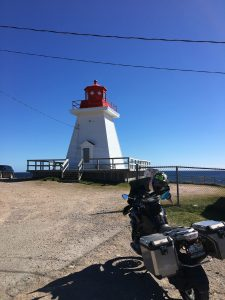 Lighthouse on the Cabot Trail