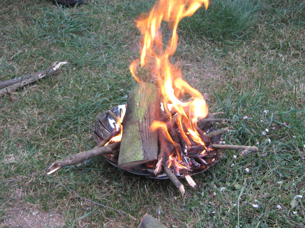 My Grilliput Fire Bowl put to good use…