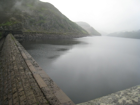 The reservoir in the Elan Valley, Wales