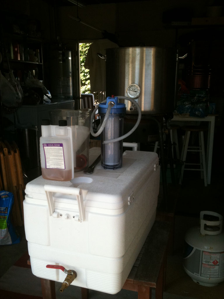 Steve's brewing gear