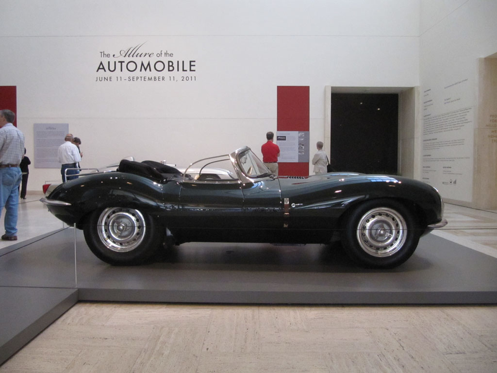 Side view of the XK-SS