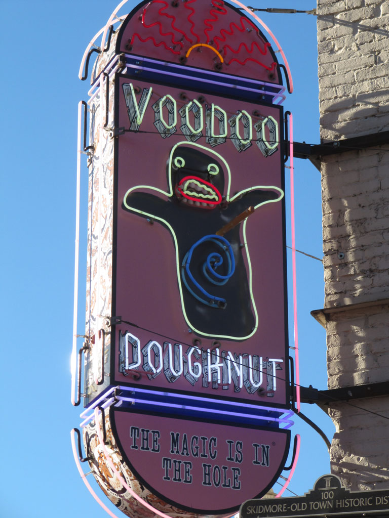 Voodoo doughnuts - the magic's in the hole