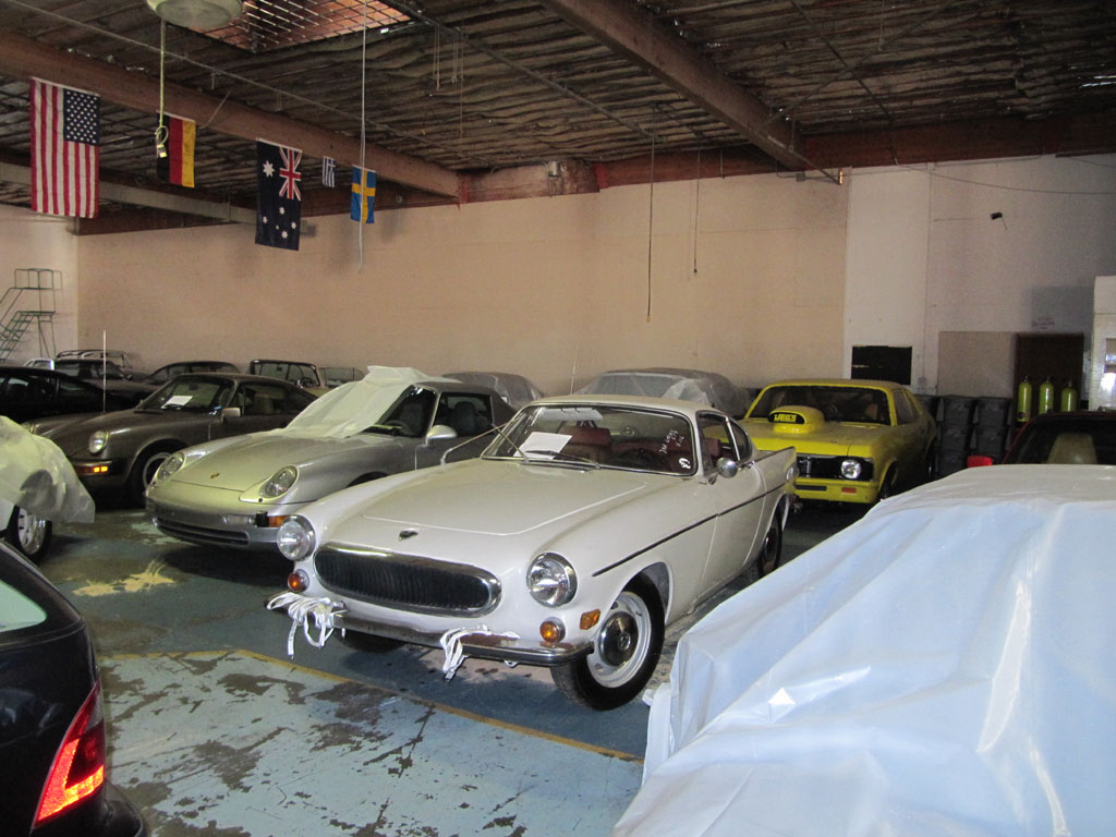 Classic Volvo P1800 coupe heading to Europe and a full restoration