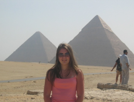Carlie and the Pyramids