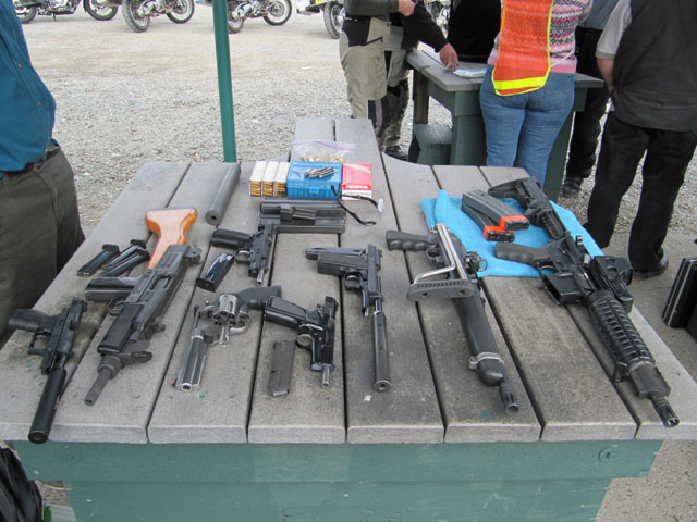 Another selection of weapons