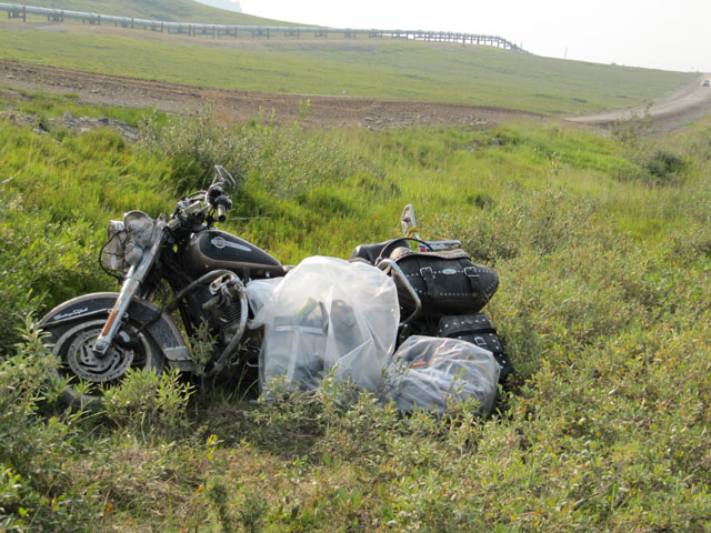 A stark reminder of the dangers of the Dalton Highway...