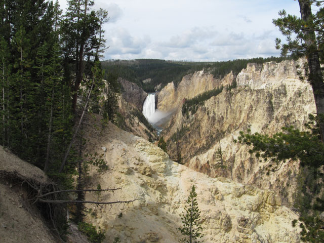 Yellowstone Canyon from Artist's Point