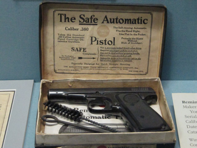 The Safe Automatic Pistol... and no, it doesn't fire blanks...