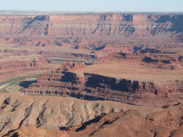 The remarkable canyon from Dead Horse Point...