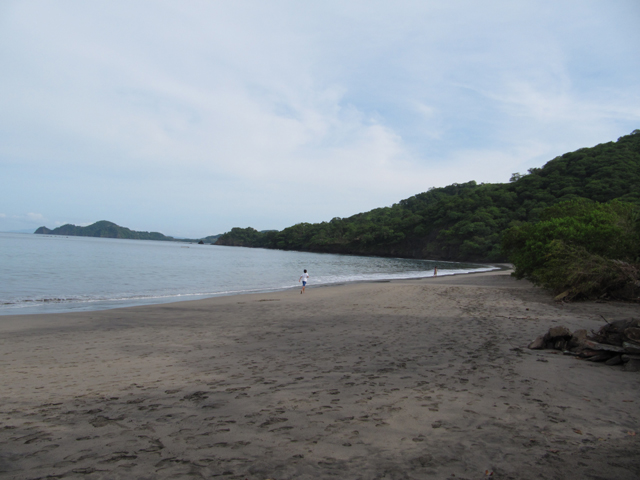 The beach at Playa Hermosa...