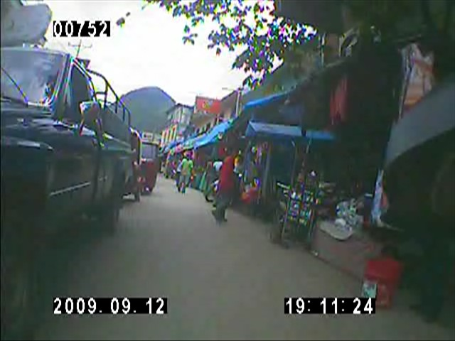 From my onboard video camera, the chaos after the Guatamala border...