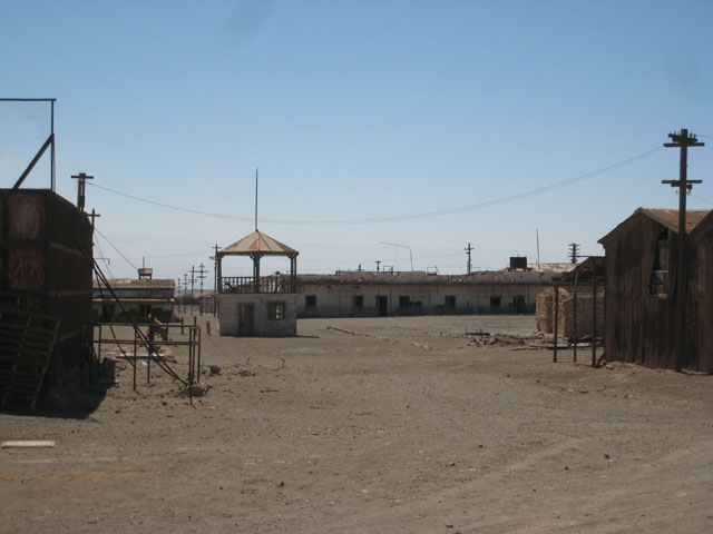 The square in Humberstone...
