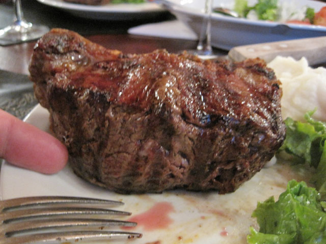 At last, a proper Argentinian steak...