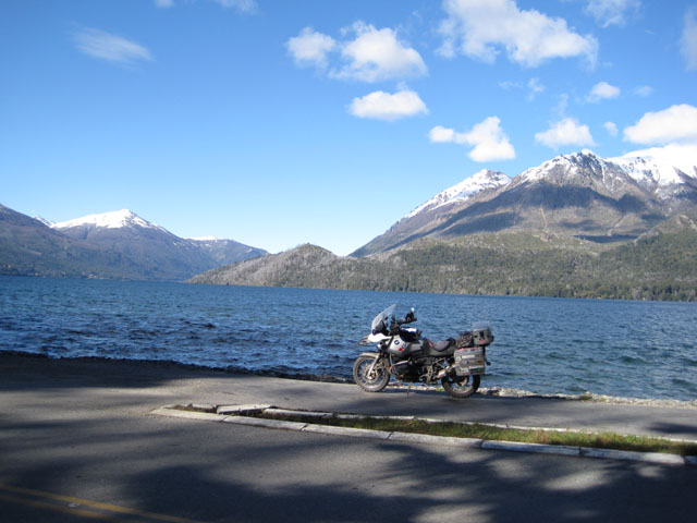 Another beautiful lakeside photo ruined by a motorbike...