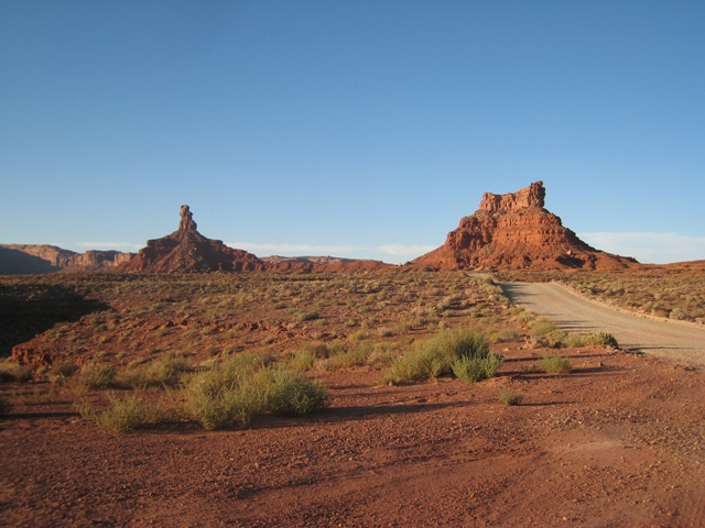 Valley of the Gods… aptly named…