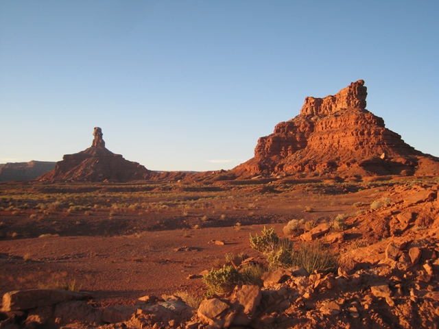 Sunset in the Valley of the Gods – worth another picture…