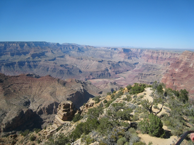 The Grand Canyon from Desert View…