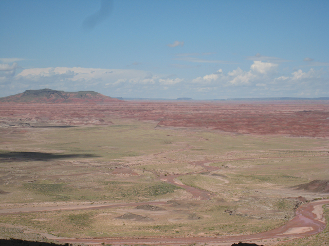 The Painted Desert…