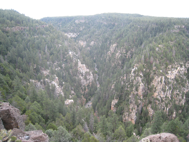 Oak Creek Valley, on the way to Sedona …